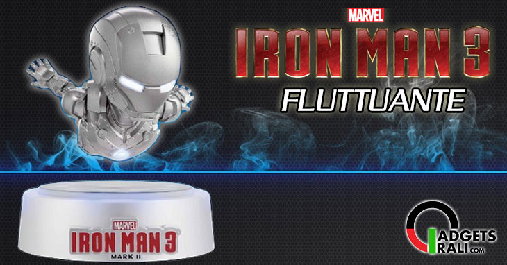 Iron Man 3 fluttuante galleggiante floating