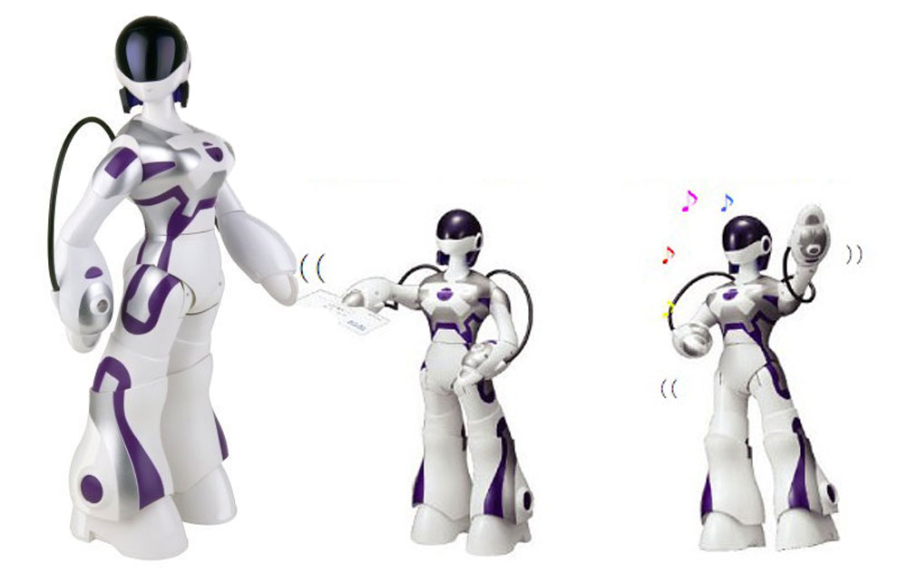WowWee-FemiSapien-Humanoid-Robot sexy femmina WowWee