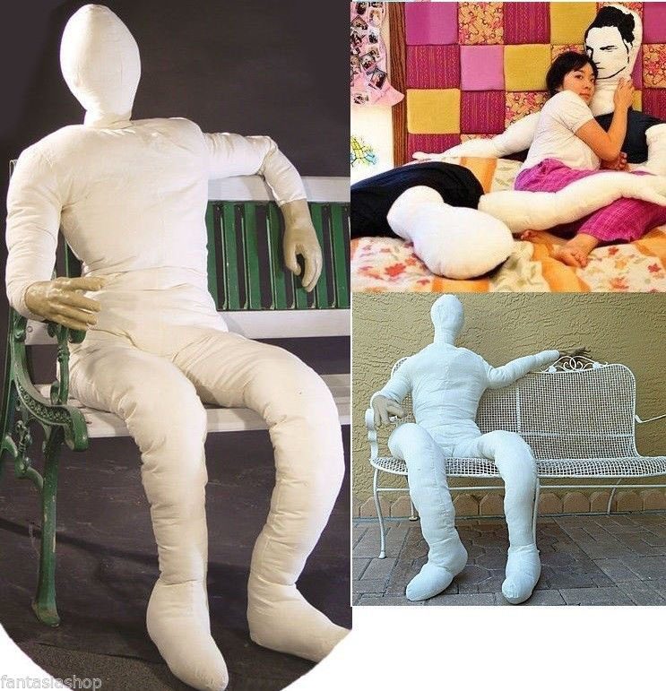 cuscino a forma di uomo da abbracciare « gadgetsvirali
