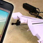powerup 3.0 aereoplanino di carta telecomandato da iphone