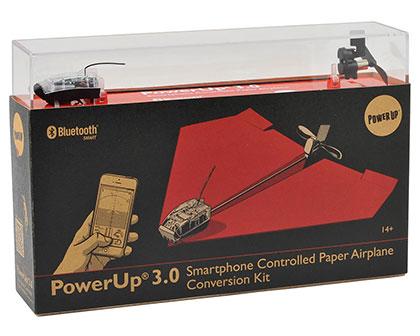 powerup 3.0 kit montaggio aereoplanino di carta