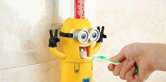 spremi dentifricio minions