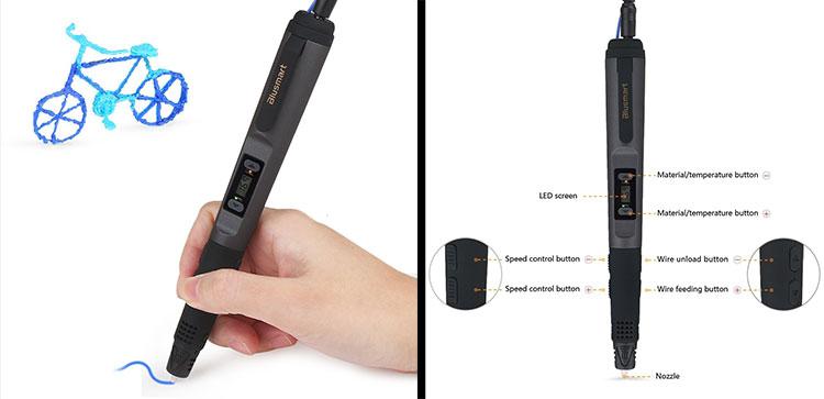 Penna 3D Blusmart Intelligent
