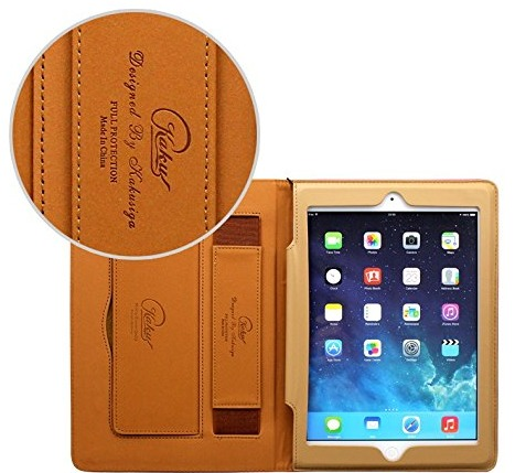 Cover iPad di classe cuoio