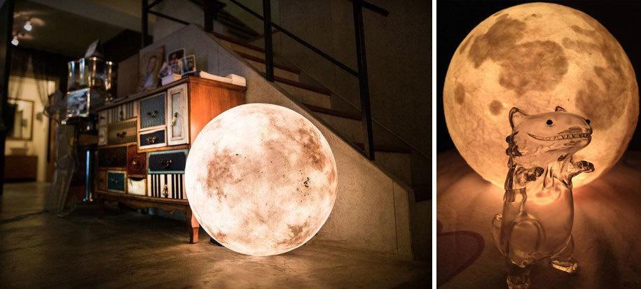 lampada luna idea arredamento