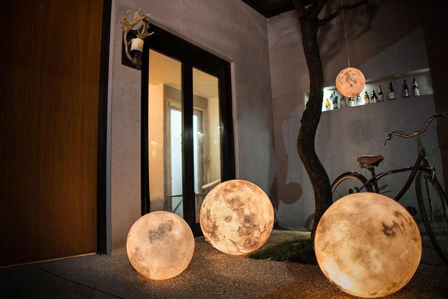 lampada luna outdoor