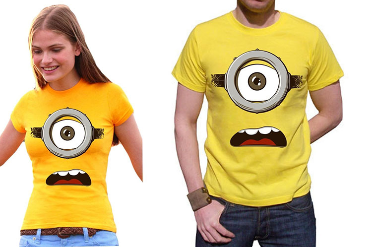 maglietta minions