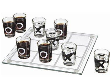 Scacchiera gioco bicchierini vodka tris