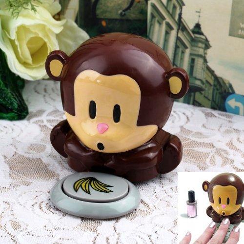 Aciuga smalto unghie a forma di scimmia