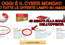 cybermonday offerte lampo amazon