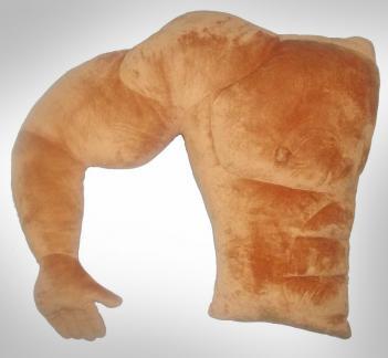 fidanzato muscoloso cuscino per donne
