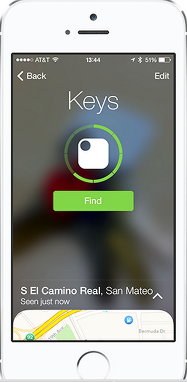 applicazione iphone per ritrovare le chiavi