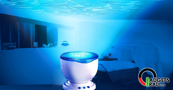 lampada effetto mare proiettore onde del mare