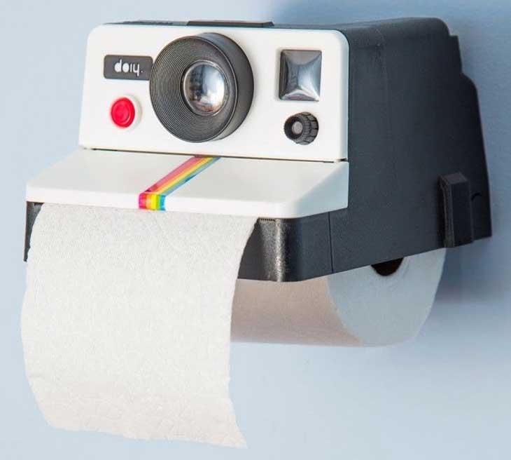 Polaroll porta carta igienica originale a forma di polaroid