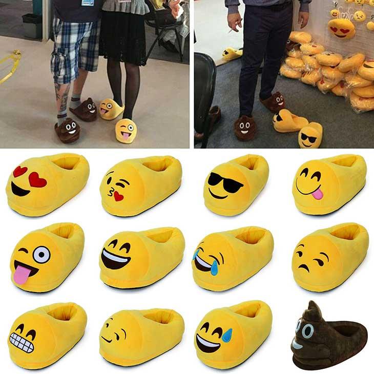 Pantofole simpatiche emoticons