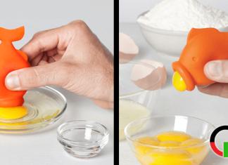 yolkfish come separa tuorlo albume originale a forma di pesce porcellino