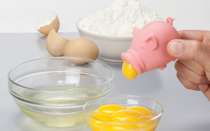 Yolkpig separatore uovo tuorlo albume a forma di porcellino maialino
