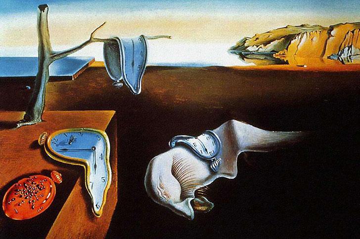 """""""La persistenza della memoria"""" o """"Gli orologi molli"""" di Salvador Dalí"""