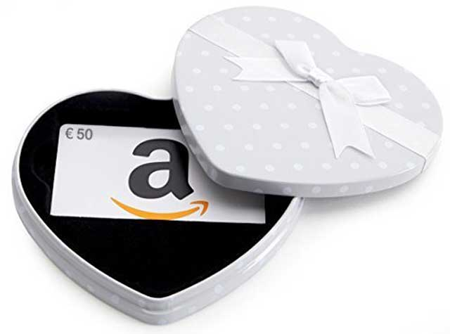 buona regalo amazon san valentino