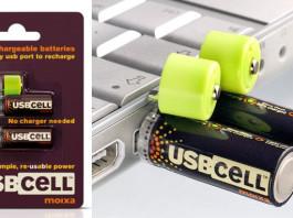 Batteria ricaricabile USB