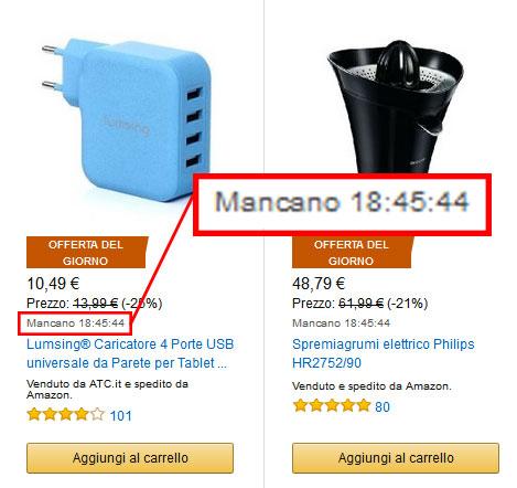 Promozioni Amazon, offerte del giorno Amazon.it