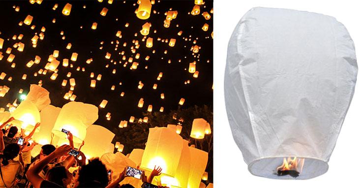 Lanterne Cinesi o Lanterne Volanti