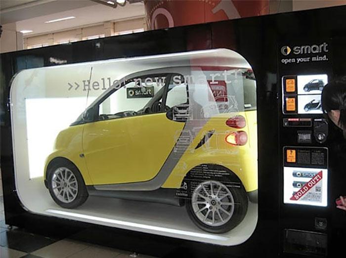 distributore automatico di smart