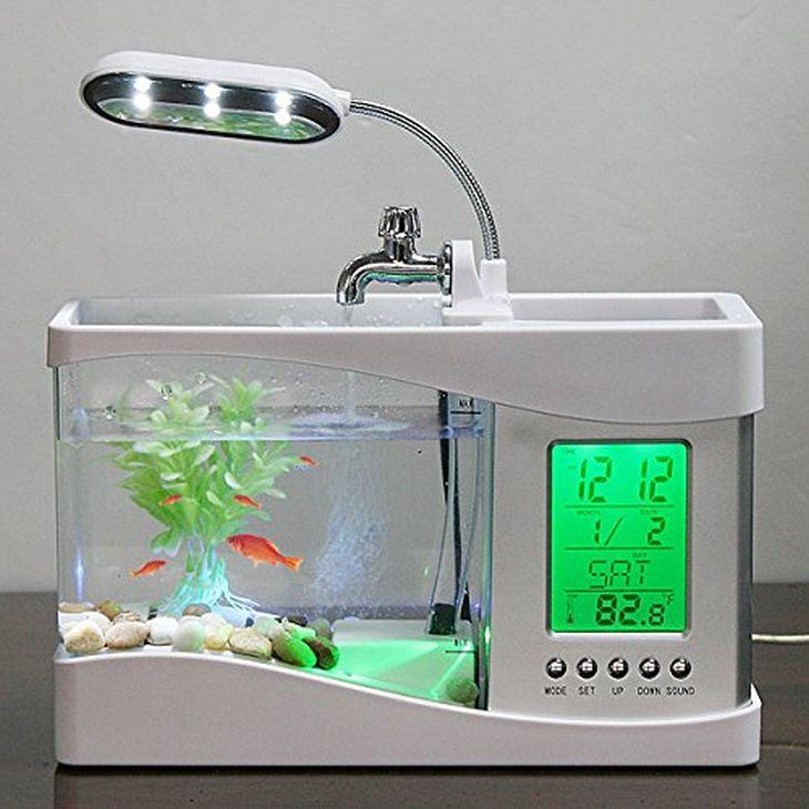 14 gadgets accessori ufficio che renderanno la tua for Lampada acquario