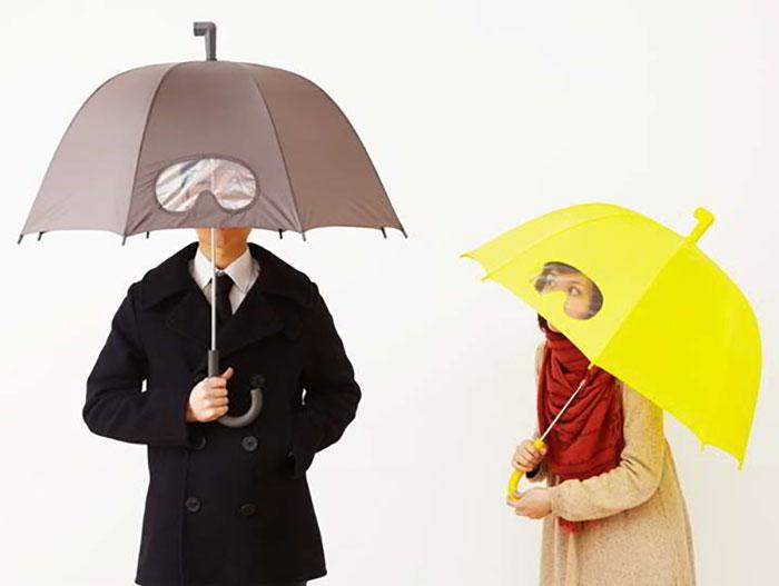 ombrello trasparente