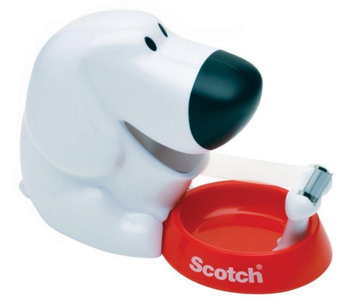porta nastro adesivo scotch cane