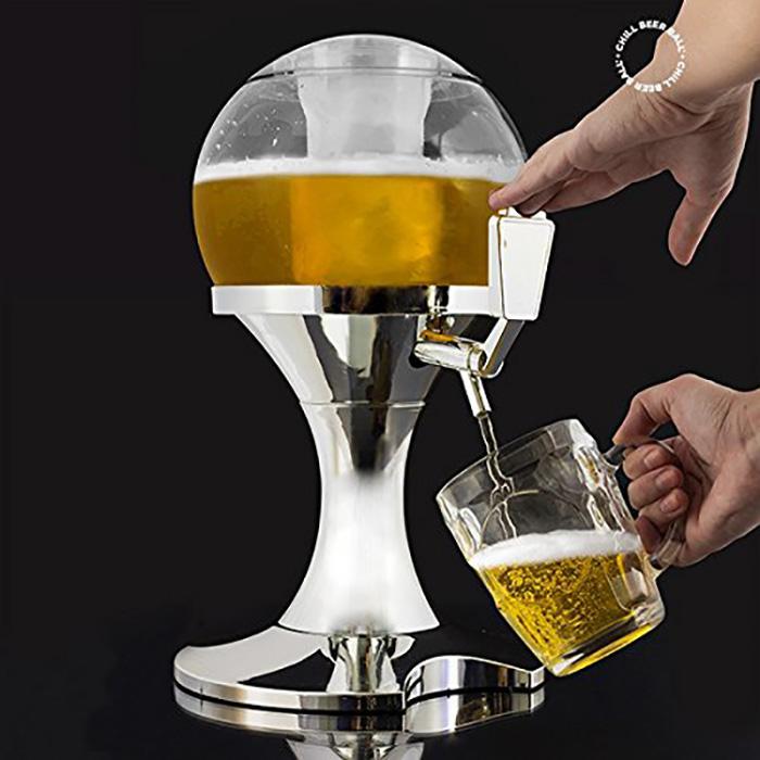 Chill beer ball! Lo spillatore di birra.