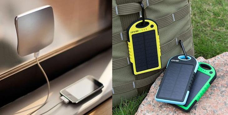 caricabatterie pannelli solari portatile