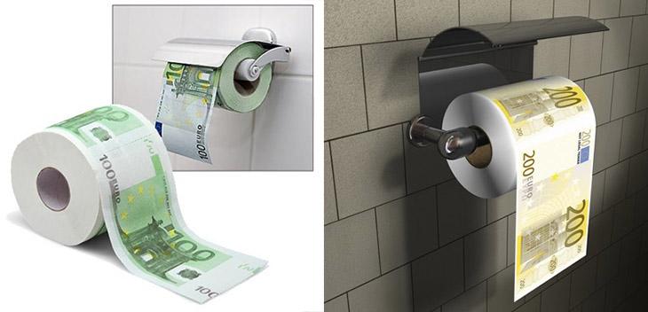 carta igienica anti crisi euro