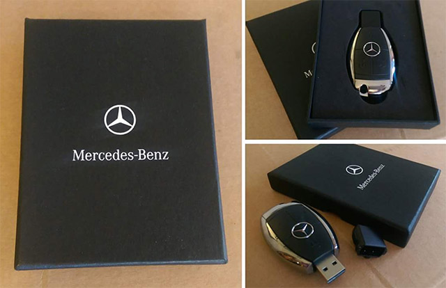 chiavetta di memoria mercedes flash usb