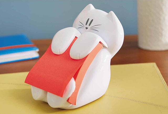 porta post-it gatto