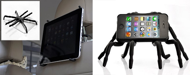 supporto ipad iphone ragno