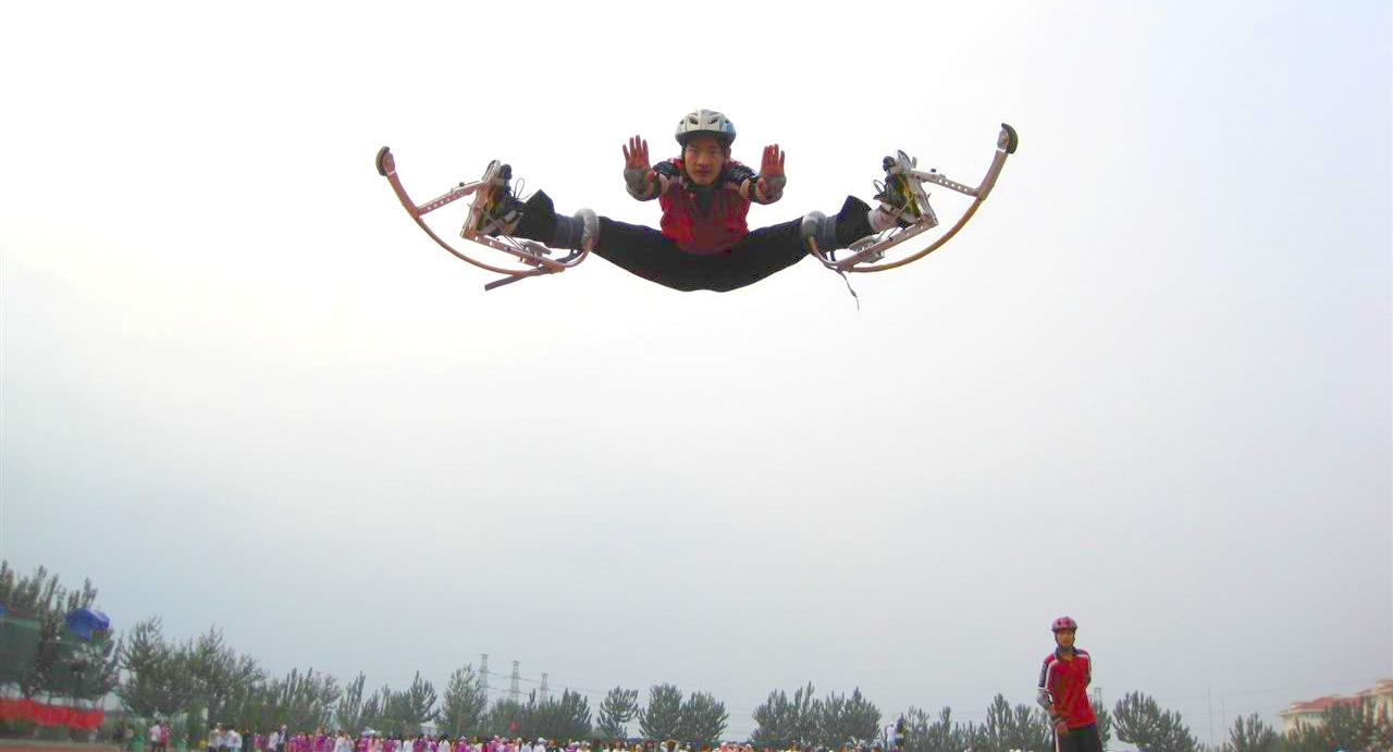 mr gadget trapolini gambe per saltare - jumping stilts