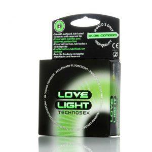 preservativi fosforescenti