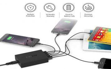 caricatore USB multiplo