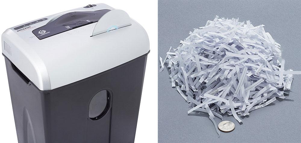 distruggi documenti ufficio livello P-3