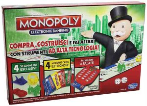 giochi da tavolo monopoly electronic backing
