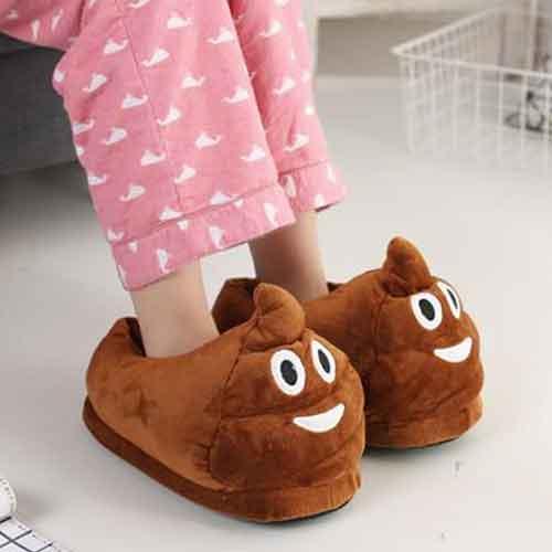 pantofole simpatiche emoticon