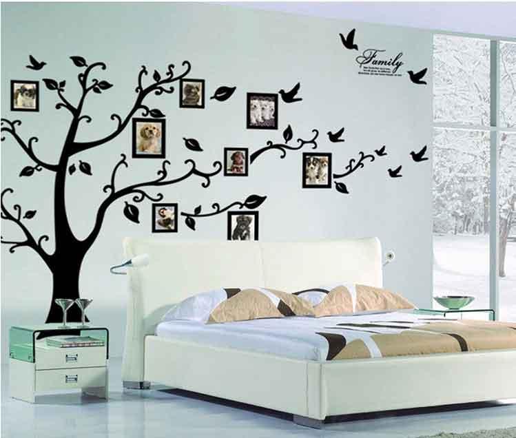 stickers da muro con porta fotografie
