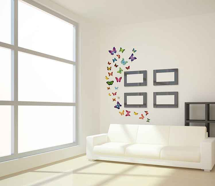 Farfalle Da Muro Ikea ~ Idee Creative di Interni e Mobili