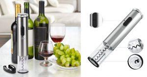 Cavatappi Elettrico: Come Aprire Una Bottiglia Di Vino In 2 Secondi.
