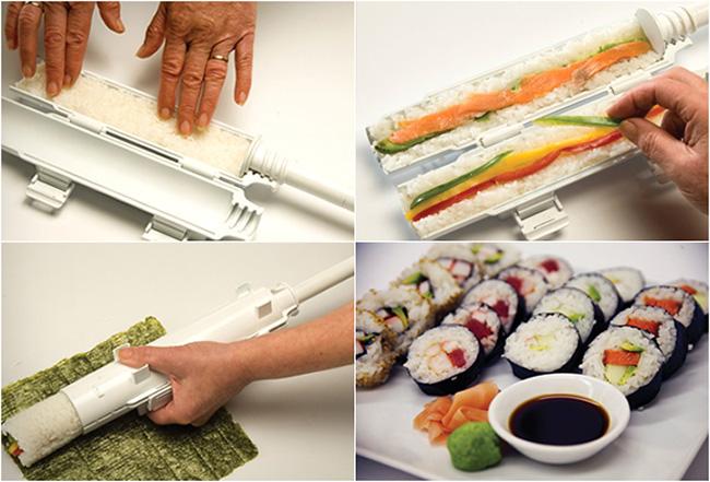 come fare il sushi con lo spara sushi