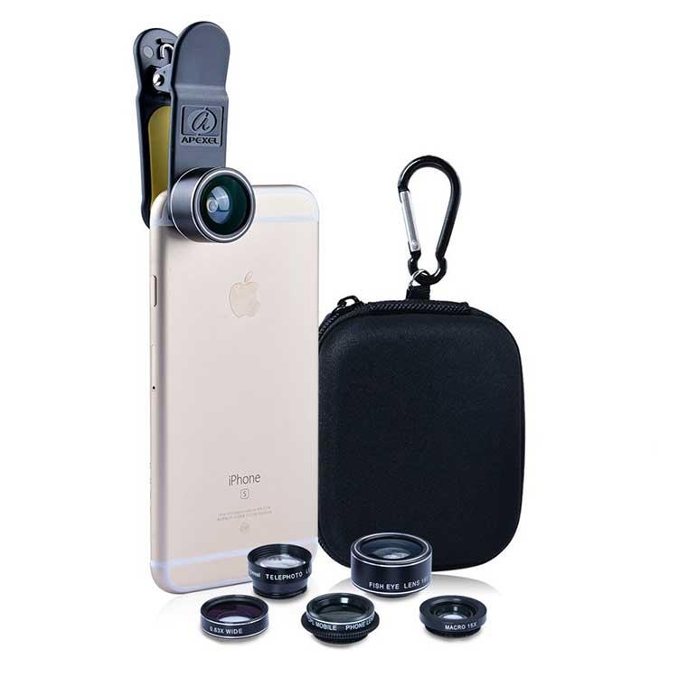 gadget tecnologici lenti per smartphone