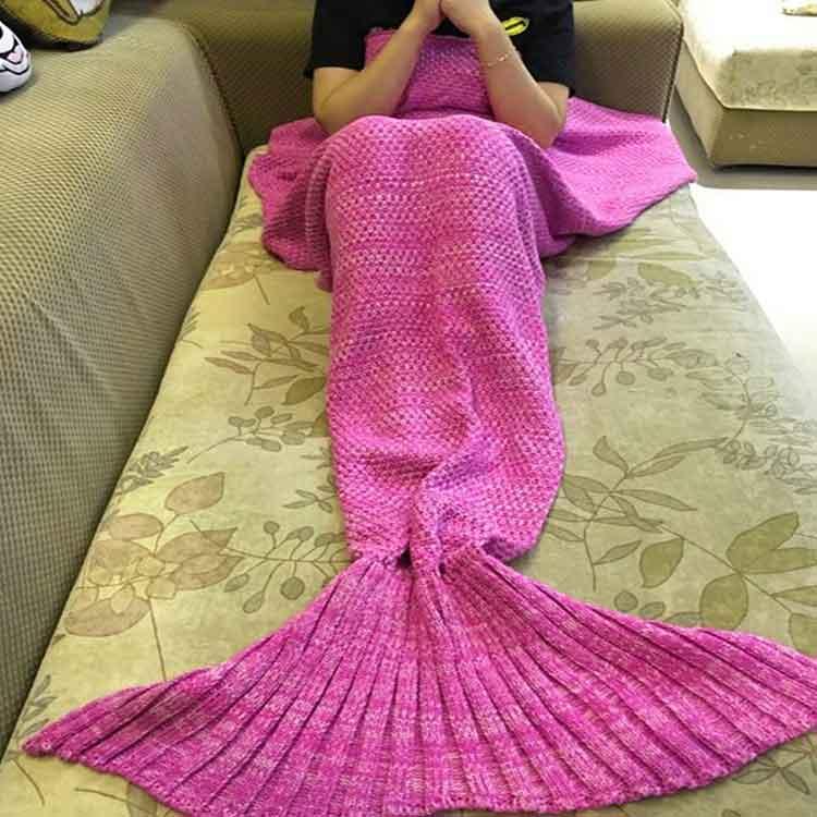 idee regalo donna coperta sirenetta