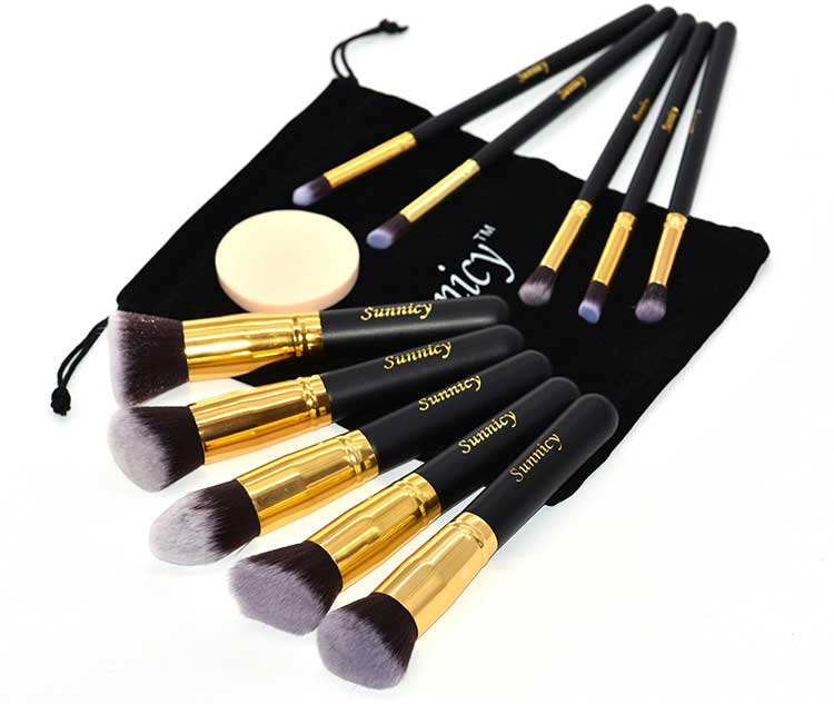 idee regalo donna pennelli make up