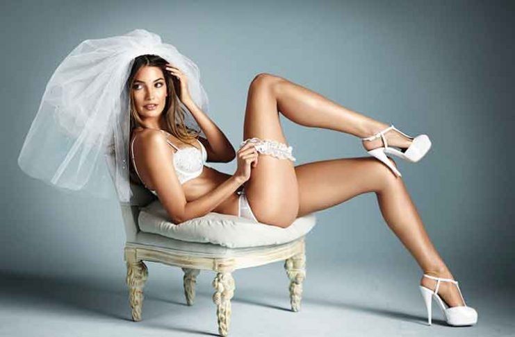 intimo sexy sposa